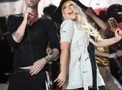 Video Christina Aguilera Maroon 'Moves Like Jagger'