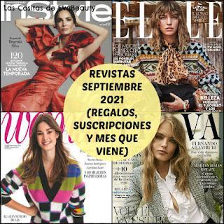 #revistas #regalosrevistas #suscripcionesrevistas #revistasseptiembre #fashion #noticiasmoda #noticiasbelleza #moda