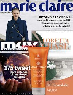#revistas #revistasseptiembre #MarieClaire #mujer #woman #regalosrevistas