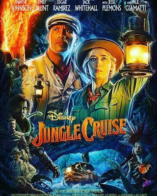 Jungle Cruise.  Nos vamos al cine y en Cartelera tenemos la película