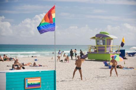 El pensamiento político de un pensamiento político. Homosexuales en Miami.