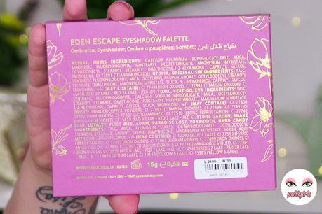 Una joya por descubrir: paleta Eden Escape de Astra