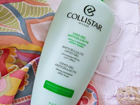 Crio-Gel Anticelulítico Collistar corporal reafirmante beauty alta cosmética belleza reductor