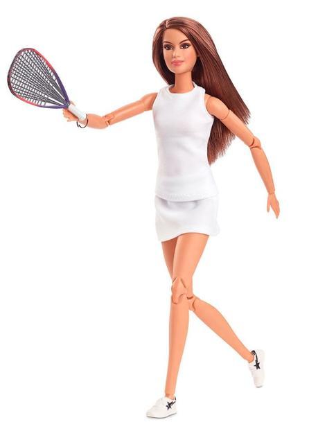 Barbie lanza muñeca en honor a Paola Longoria