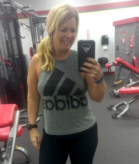 Christy Hare en el gimnasio