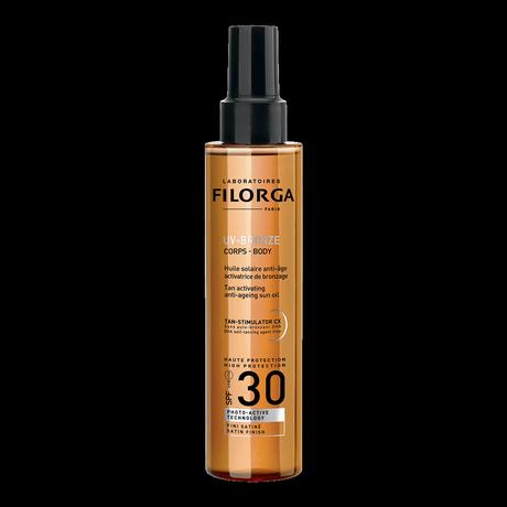 Solar Duo UV-Bronze, protección solar para rostro y cuerpo de Filorga