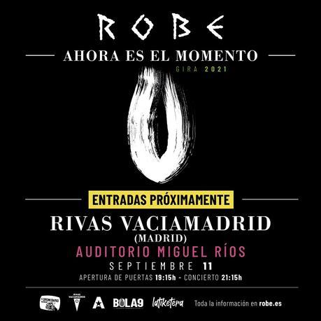 Robe en Rivas: aplazada la venta de entradas