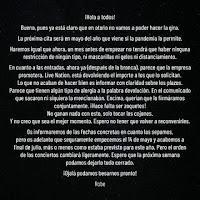 Robe Iniestra anuncia que el tour de Extremoduro ha sido cancelado por Live Nation