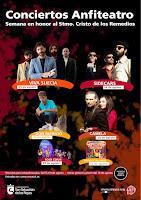 Ciclo de conciertos Conciertos Anfiteatro San Sebastian de los Reyes 2021