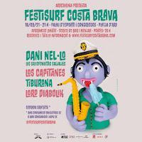 Cartel Festisurf Costa Brava 2021