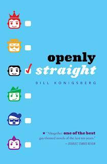 portada libro openly straight inglés