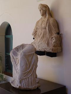 Joyas de las artes plásticas de Extremadura: Dama de Regina, o diosa Juno del yacimiento reginense, en el Museo Arqueológio Provincial de Badajoz