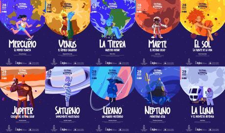 """""""Festival de Astronomía para niños y niñas"""" en línea"""