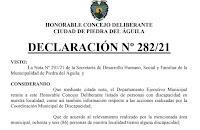 El Concejo Deliberante Declaró de interés la creación de un Centro de Rehabilitación.