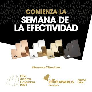 Hoy comienza la Semana de la Efectividad, el evento que mide a los más 'berracos y efectivos' de la comunicación comercial en el país