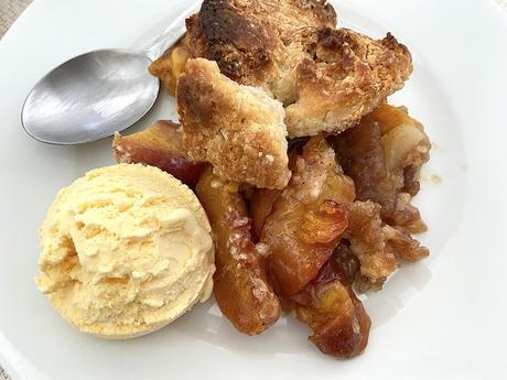 delikatissen tartas fáciles con fruta tarta de melocoton peach pie peach dessert cobbler de melocotón american pie american cobbler