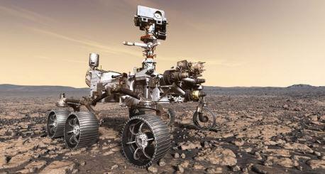 El rover Perseverance recoge muestras del suelo marciano