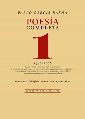 Pablo García Baena. Poesía completa