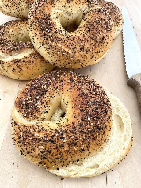 delikatissen Recetas Americanas receta pan americano receta fácil de bagels home made jerusalem bagels easy bagels como hacer bagels comida americana recetas caseras bagels caseros