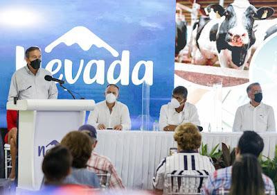 Nevada inaugura línea de producción de leche deslactosada y presenta su plan de transformación de productores de leche grado C a grado A