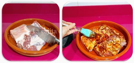 Costillas en salsa barbacoa al jengibre