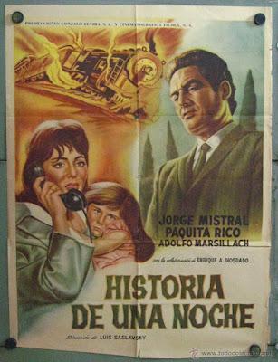HISTORIA DE UNA NOCHE (España, 1963) Melodrama