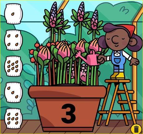 Juegos de matemáticas Toy theater