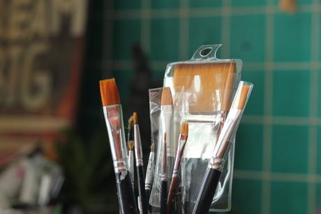 Tipos de pinceles que existen para pintar