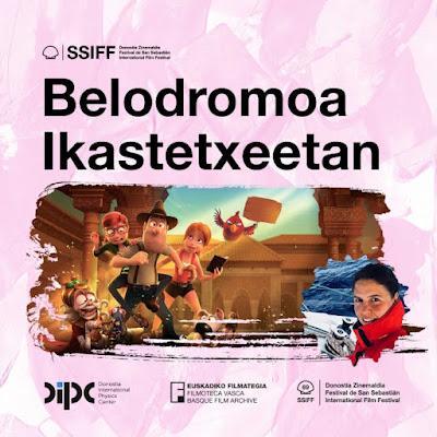 Belodromoa ikastetxeetan se sumergirá en la arqueología de la mano del DIPC, Filmoteca Vasca y el Festival de San Sebastián
