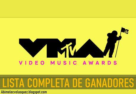 LISTA COMPLETA DE GANADORES DE LOS MTV VMAs 2021