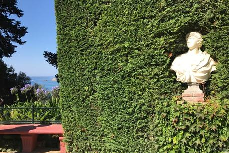 Can Roviralta. Bustos Jardines Santa Clotilde