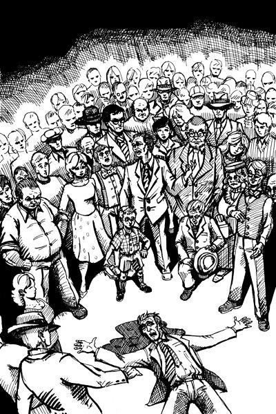Reseña: La multitud de Ray Bradbury