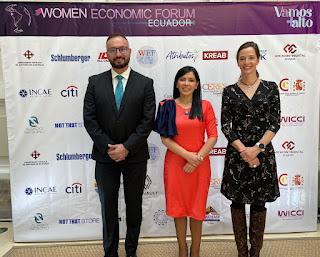 CASA GANGOTENA FUE SEDE DEL LANZAMIENTO DEL WOMEN ECONOMIC FORUM 2021 EN ECUADOR