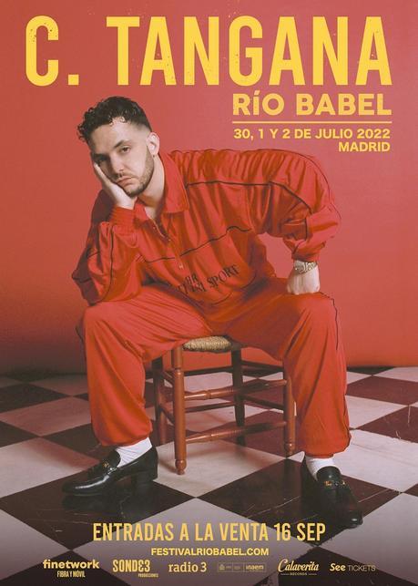 C. Tangana presentará 'El madrileño' en Madrid en Río Babel 2022
