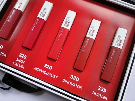 Spiced Up, la colección de rojos de Super Stay Matte Ink.
