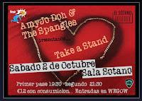 Concierto de AmyJo Doh & The Spangles en El Sótano