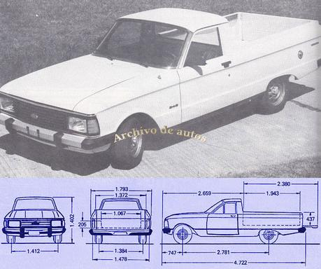 Ford Ranchero 2.4 D 1988
