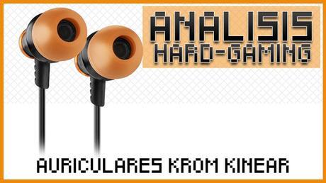 ANÁLISIS: Auriculares Krom Kinear
