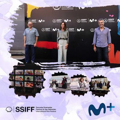 Movistar+ y el Festival de San Sebastián presentan la Sala Virtual Zinemaldia Movistar+ como parte de su nueva alianza editorial