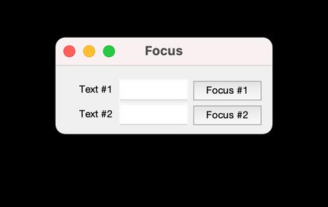 Centrar el foco en un componente de Matlab por código