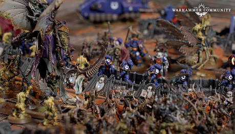 Resumen relámpago de Warhammer Community hoy