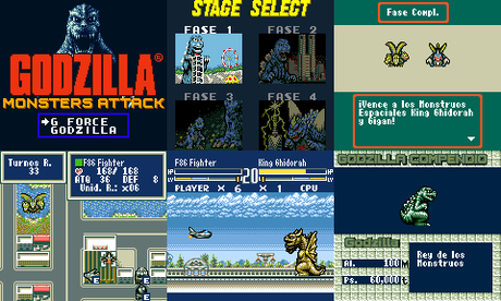 Gojira: Kaijuu Daishingeki (Godzilla: Monsters Attack) de Sega Game Gear traducido al español