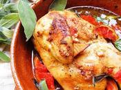 Pollo horno pomelo salvia (horno leña)