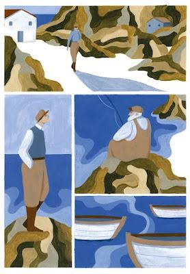 La isla, de Mayte Alvarado. Un poema marinero