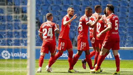 Datos ligueros del Sevilla FC ante la Real Sociedad