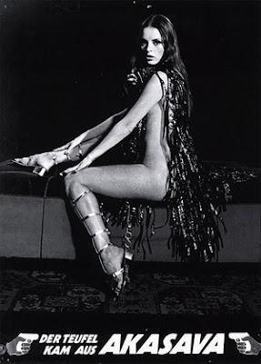 DIABLO QUE VINO DE AKASAWA, EL (Der Teufel kam aus Akasava) (España, Alemania del Oeste; 1971) Intriga, Policíaco, Fantástico, Erótico