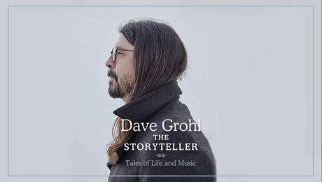 Tráiler del nuevo libro de Dave Grohl: 'The storyteller'