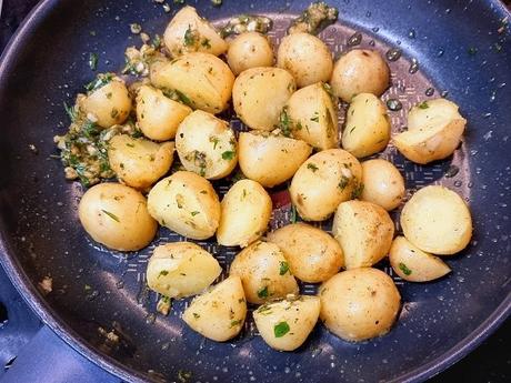 Lenguado menier o meunière , receta francesa