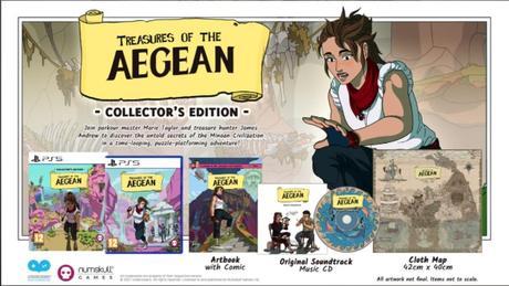 Treasures of the Aegean contará con una flamante edición de coleccionista