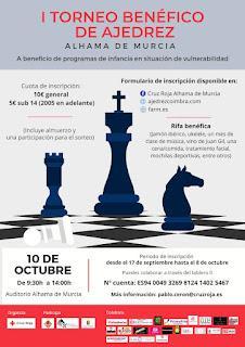 I Torneo Benéfico de Ajedrez Rápido (Alhama de Murcia)